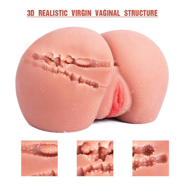 Sex Toy Realistic Ass and Vagina Male Masturbation  For Men