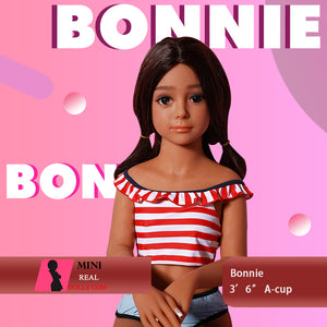 "108cm (3'6"") A-cup Tan Skin Love Doll Sex Doll  Bonie"