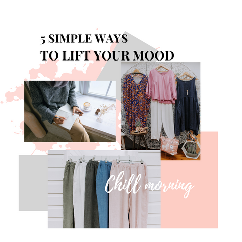 5 Simple ways to lift your mood