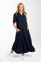 Everyday Maxi Dress in Navy