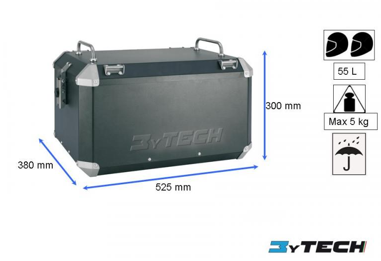 Mytech Top Case - 55L