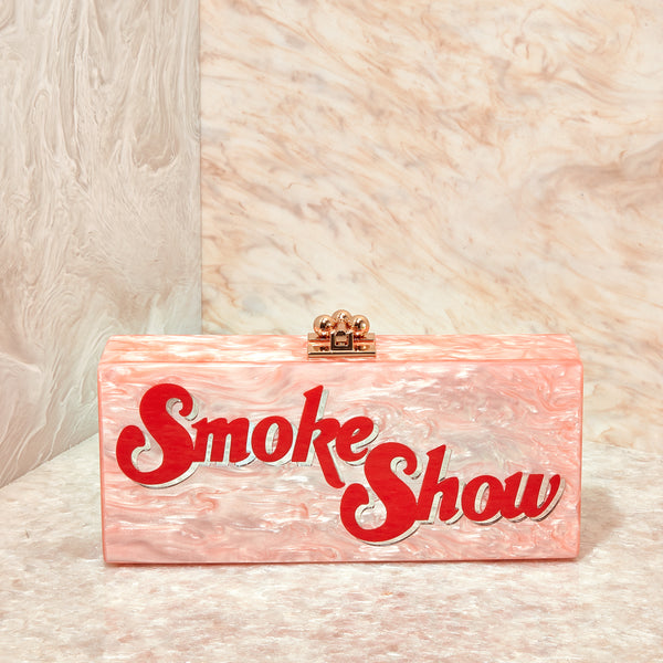 Smoke Show Medium Slim Clutch