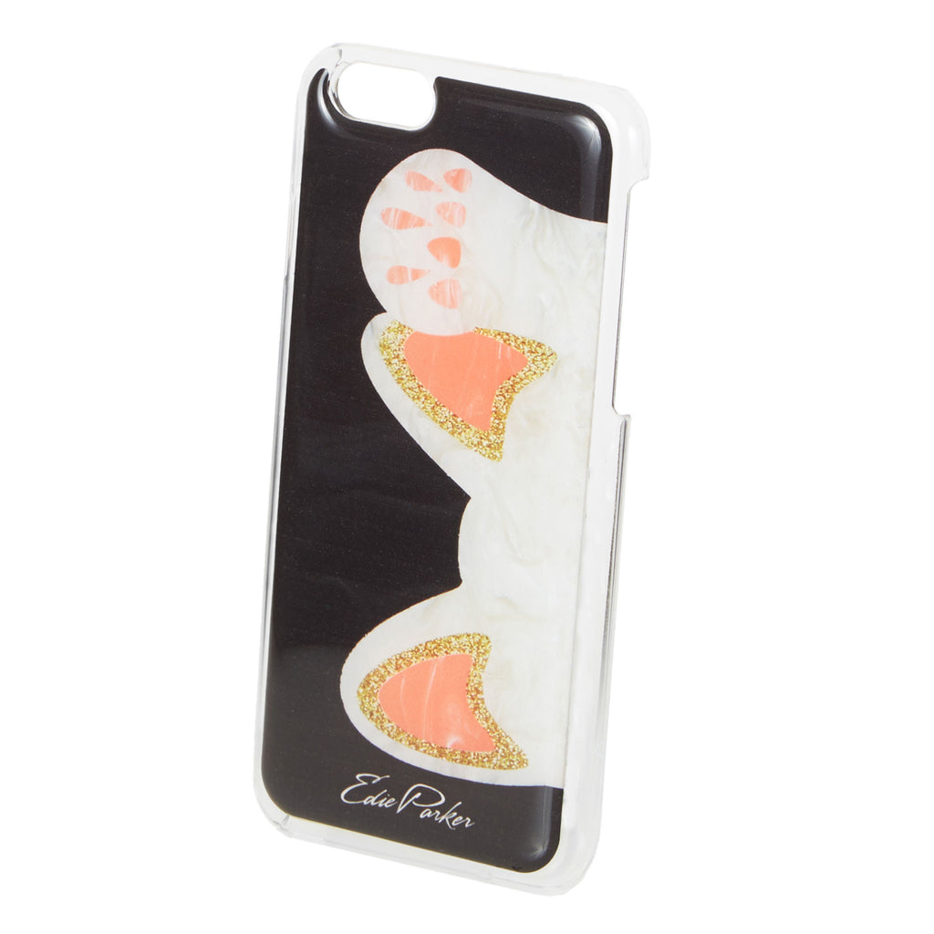 Edie Parker Beckoning Cat Black iPhone Case Hands Free Feature Image