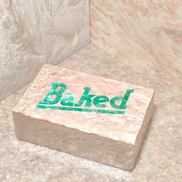 Baked Box in Dune Multi