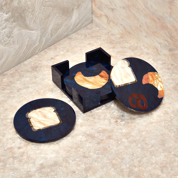 Carb Round Coasters