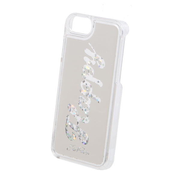 6-6s-7-8, Edie Parker Floating Happy iPhone Case Silver Silver Brilliant Stars Confetti