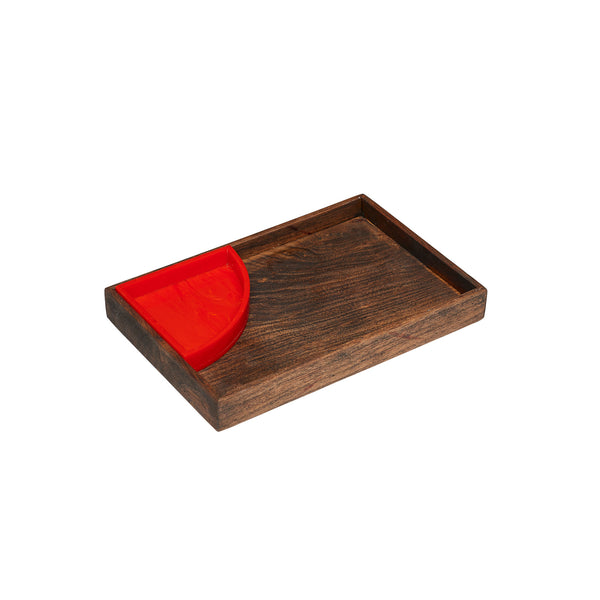 Small Serving Tray Wood