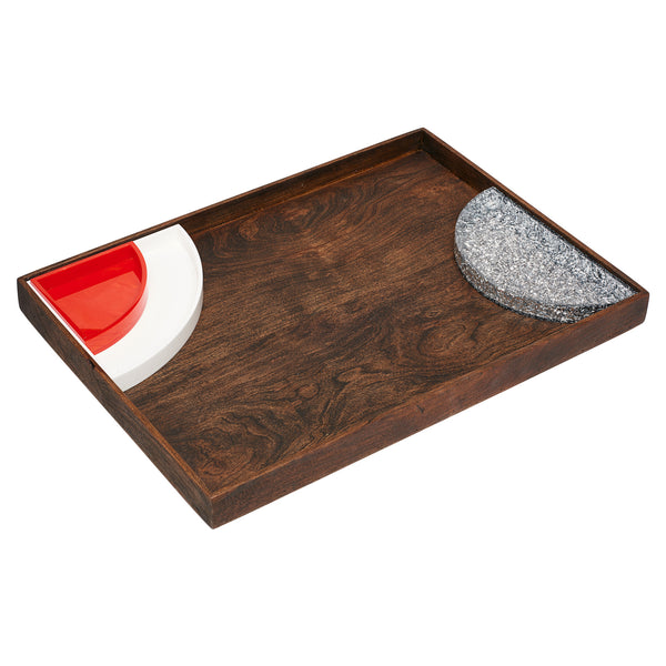 Extra Large Serving Tray in Wood