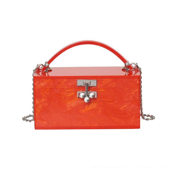 Mini Trunk Solid in Tangerine