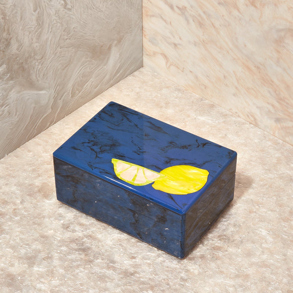 Fruit Stash Box in Blue Lapis