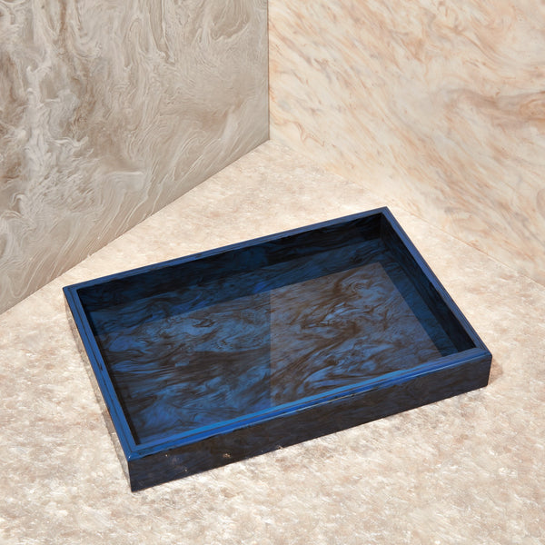 Vanity Tray in Blue Lapis