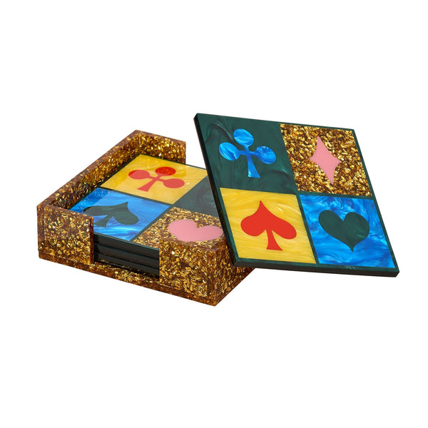 Lucky Square Coasters