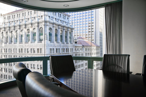 Raven Office Centers and Executive Suites at 388 Market Street in San Francisco | Board Room with great view for rent