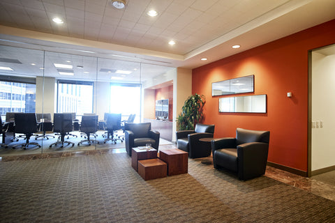 Raven Office Centers and Executive Suites at 388 Market Street in San Francisco | Reception
