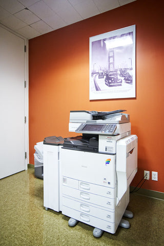 Raven Office Centers and Executive Suites at 388 Market Street in San Francisco | High-end Ricoh print and production machines
