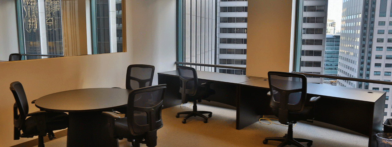 Raven Office Centers offers Executive Suites at 388 Market Street in San Francisco | Instant Offices | Current Office Inventory