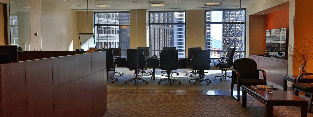 Raven Office Centers offers Executive Suites at 388 Market Street in San Francisco | Reception & Lobby | Schedule a Tour!