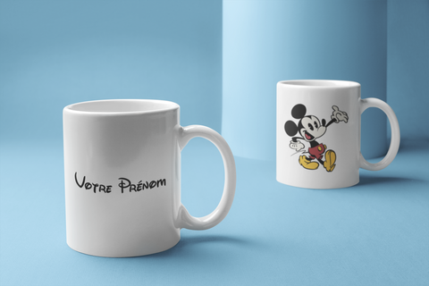 Mug Disney personnalisé boutique disney store shopdisney