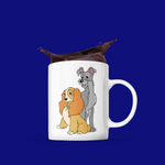 Disney mugs la belle et le clochard disney store shopdisney
