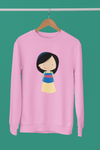 pull sweat shirt mulan princesse asiatique Walt Disney