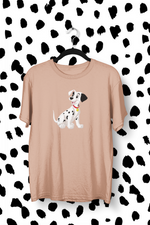 t-shirt chiots dalmatiens Walt Disney tâches chiens race adultes enfants cruella d'enfer