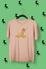 t-shirt faon bambi Walt Disney animal fôret