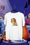 t-shirt lady la belle et le clochard Walt Disney chiens