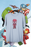 t-shirt Marvel super-héros walt disney studios pixar spiderman super woman hulk iron man thor avengers captain america
