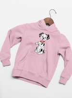 sweat à capuche sweat shirt les 101 dalmatiens Walt Disney chiens chiots cruella d'enfer