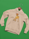 sweat à capuche sweat shirt bambi Walt Disney panpan fôret faon