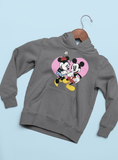 Sweat à capuche Mickey & Minnie