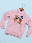 vêtements sweat à capuche sweatshirt Mickey et ses amis Donald pluto Minnie Dingo Daisy Walt Disney