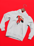 vetements sweatshirt sweat à capuche les indestructibles super héros Walt Disney Pixar syndrome elastigirl violette Parr flèche