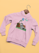 vetements-sweat-shirt sweat à capuche Pocahontas princesse walt disney meeko raton laveur flit colibri