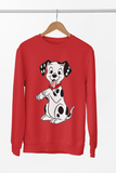 pull vêtements sweat-shirt les 101 dalmatiens chiots cruella d'enfer walt disney