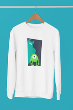 pull sweat-shirt monstres et compagnie monsters&cie bouh razowski sullivan pixar walt disney