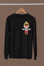 pull sweat-shirt pinocchio Walt Disney jiminy cricket gappetto