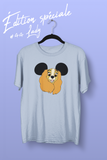 T-shirt lady la belle et le clochard walt disney