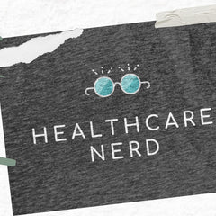Healthcare Nerd t-shirt, perfect gift for Medical Doctor, Nurse and Student