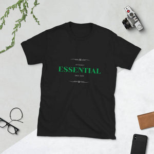 Essential since 2020 T-shirt - Dark Editions⎟PONSIST Store