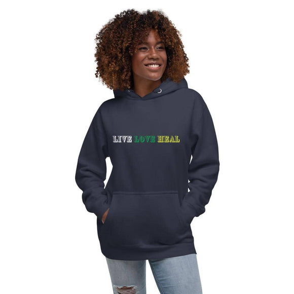 Live Love Heal Soft Cotton Hoodie⎟PONSIST Store