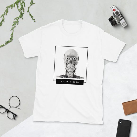 No Skin Head T-Shirt - MedArt Series⎟PONSIST Store