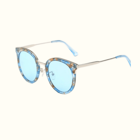 Blue Translucent  Sunnies - Highfalutin' Hippy Chick
