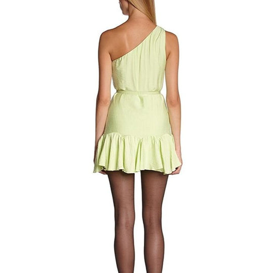 Grecian Mini Dress with clear belt - Highfalutin' Hippy Chick