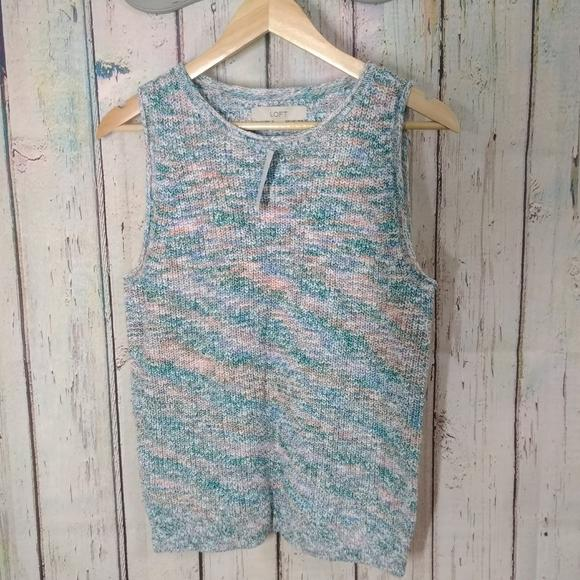Spacedye Sweater Tank size Large - Highfalutin' Hippy Chick
