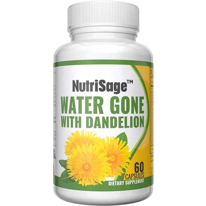 NutriSage: Premium Diuretic Water Pill With Dandelion