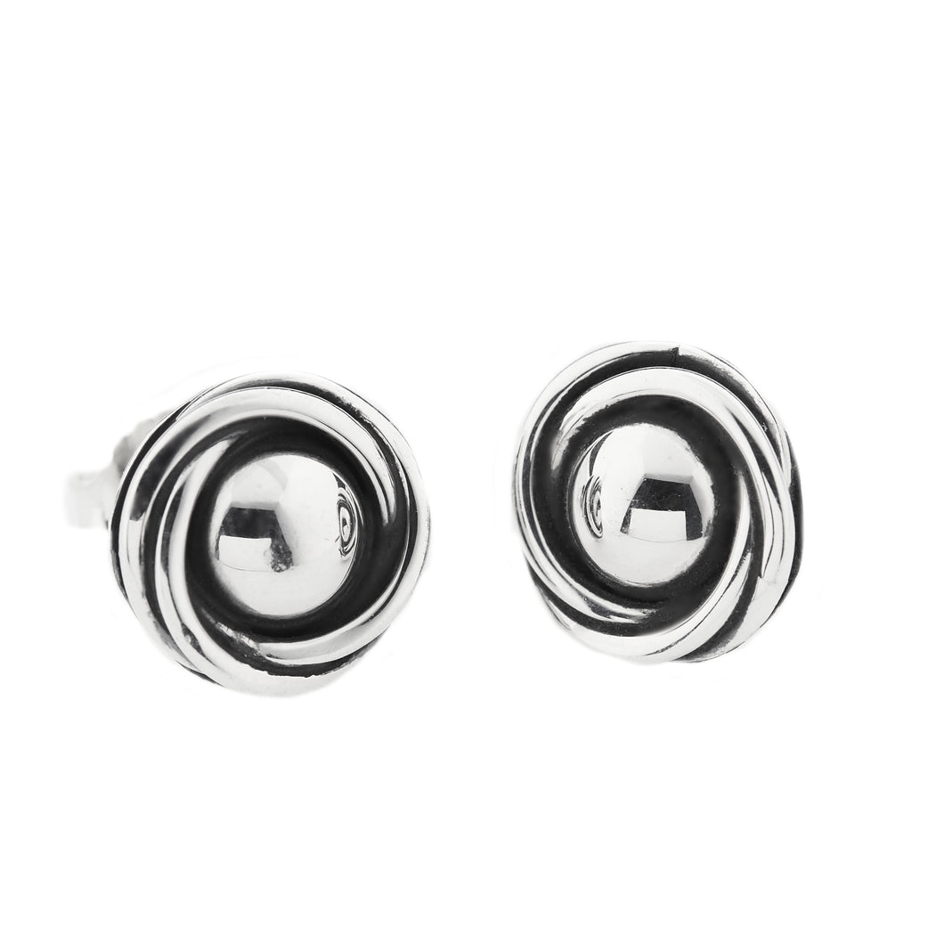 Silver Stud Earrings - A3166