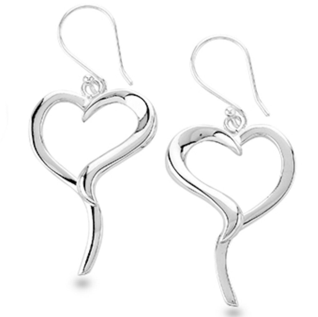 Silver Drop Earrings - PPA23