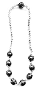 Silver Drop Earrings - a9001