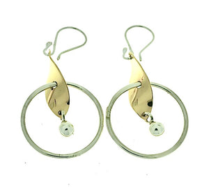 Silver Drop Earrings - PPA476